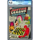 Justice League of America #1 CGC 4.5 (OW-W) *2008912010*
