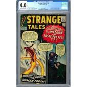 Strange Tales #110 CGC 4.0 (C-OW) *2010228001*