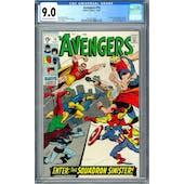 Avengers #70 CGC 9.0 (OW-W) *2014214004*