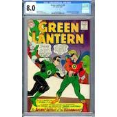 Green Lantern #40 CGC 8.0 (W) *2014553004*