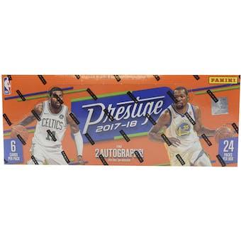 2017/18 Panini Prestige Basketball Hobby 16-Box Case