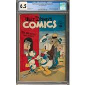 Walt Disney's Comics and Stories #31 CGC 6.5 (C-OW) *2017137007*