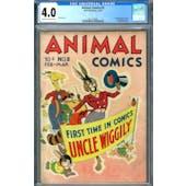 Animal Comics #2 CGC 4.0 (C-OW) *2017138001*