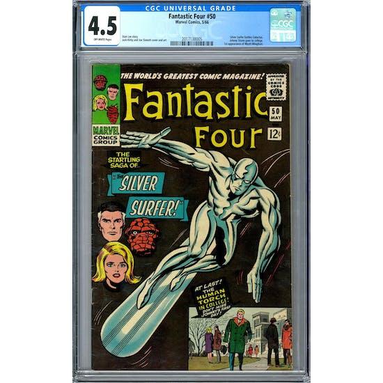 Fantastic Four #50 CGC 4.5 (OW) *2017138005*