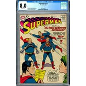 Superman #115 CGC 8.0 (OW) *2017138022*