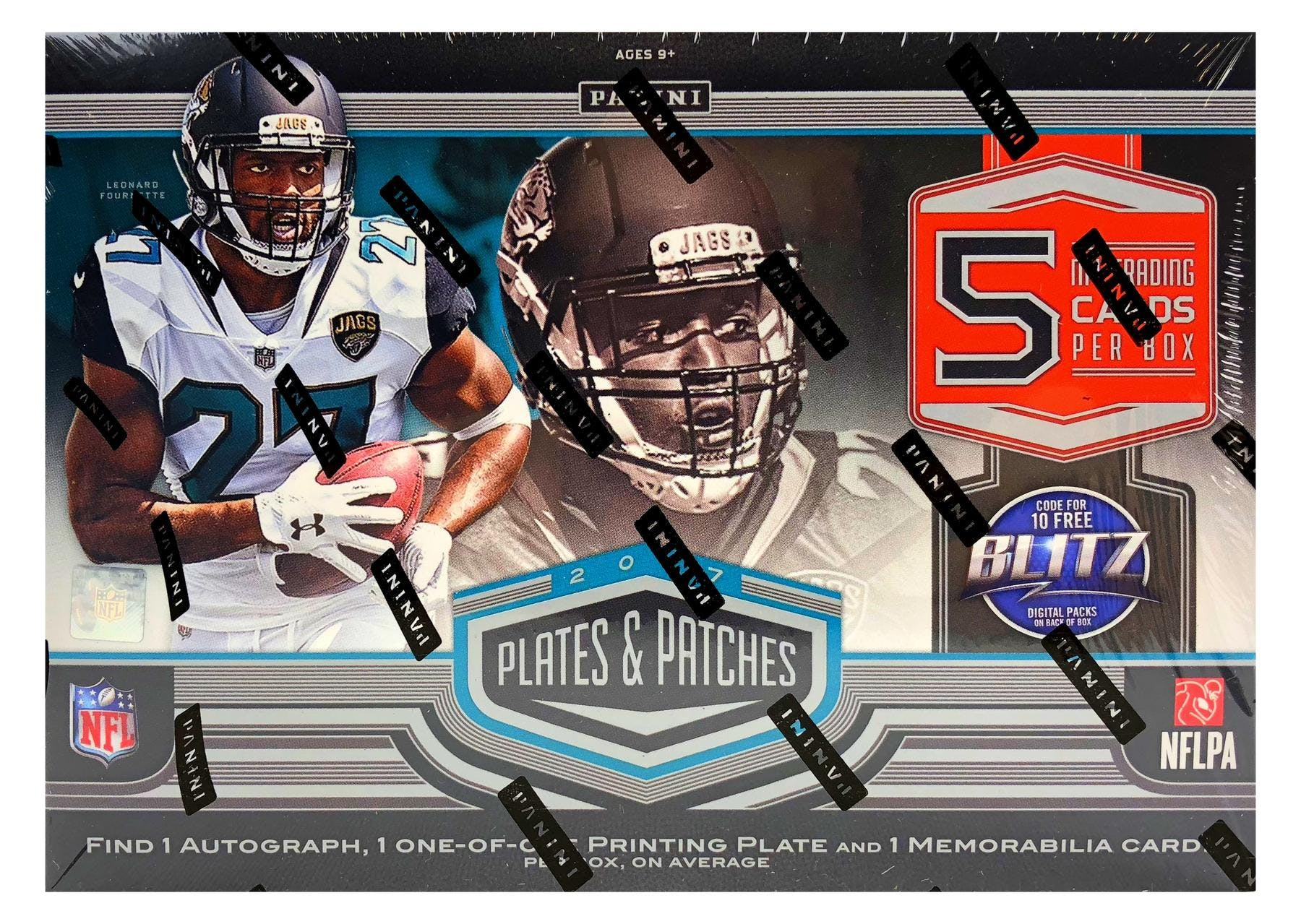 cedb94cc882 2017 Panini Plates and Patches Football Hobby Box
