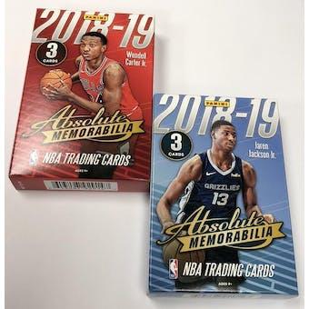 2018/19 Panini Absolute Memorabilia Basketball Hobby Pack