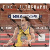2018/19 Panini Hoops Basketball 24-Pack Box