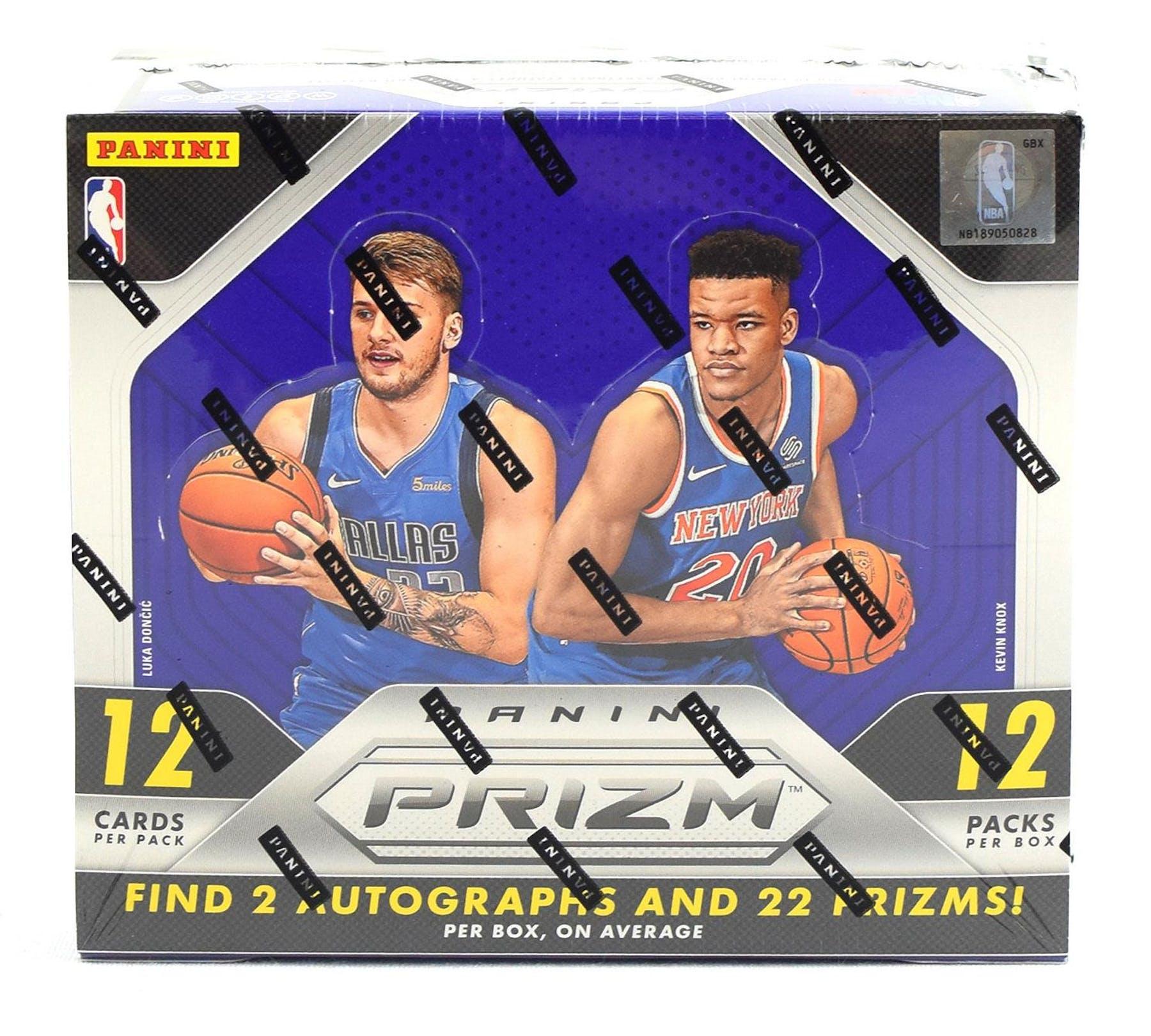 2018 19 Panini Nba Hoops Basketball Hobby Box: Panini Prizm Basketball Boxes (2x 2017/18