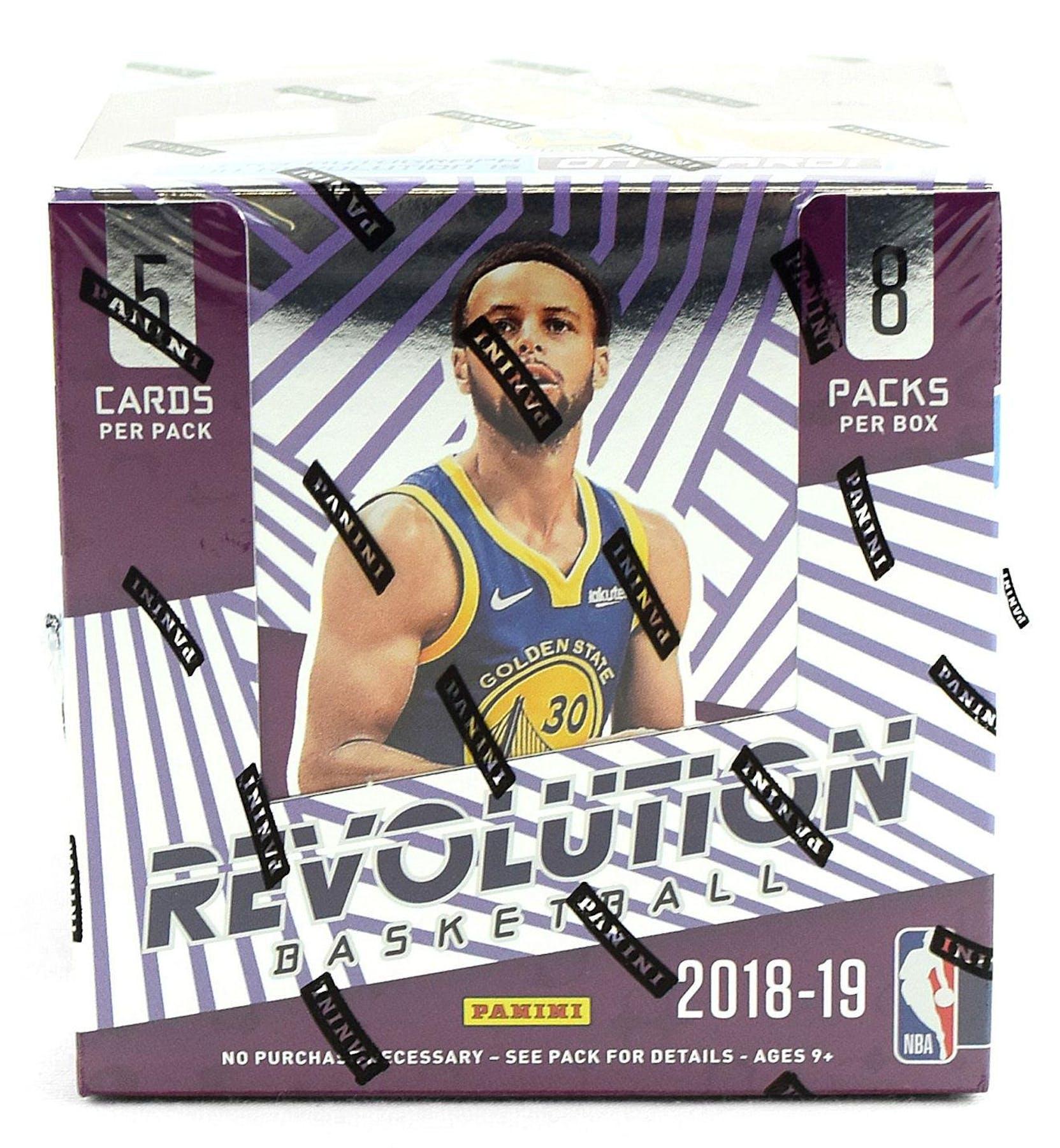 2018 19 Panini Nba Hoops Basketball Hobby Box: 2018/19 Panini Revolution Basketball Hobby Box