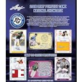 2018 Leaf Perfect Game National Showcase Baseball Hobby Box