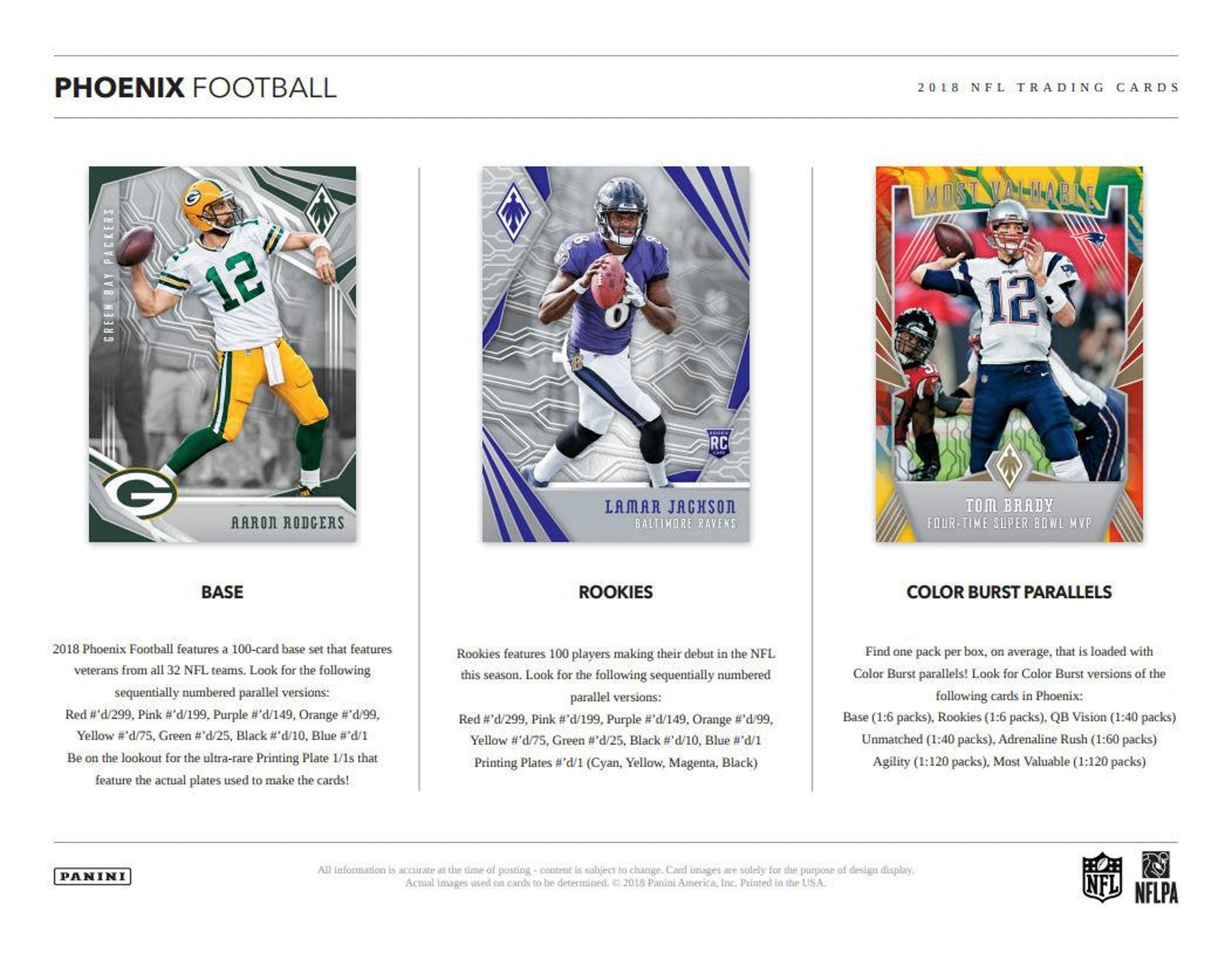 6c9d43ff1 ... 2018 Panini Phoenix Football Hobby Box