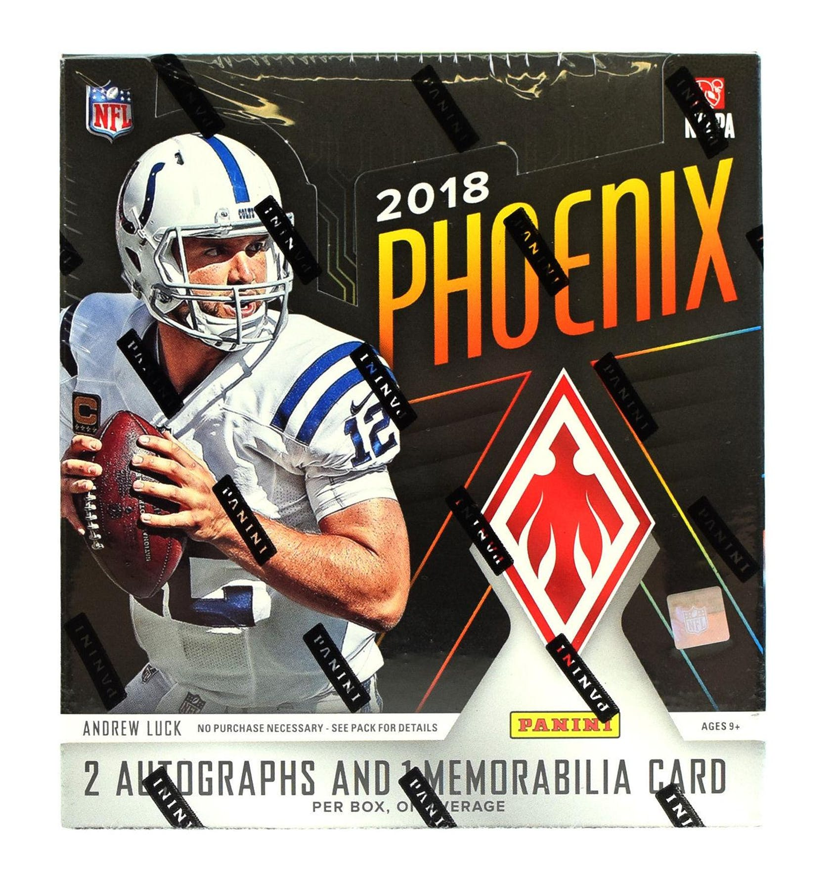 33a6580cd 2018 Panini Phoenix Football Hobby Box