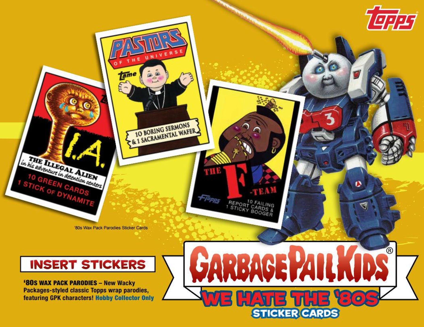 423466cafba ... Garbage Pail Kids Series 1 We Hate The 80 s Collector Edition Box  (Topps 2018)