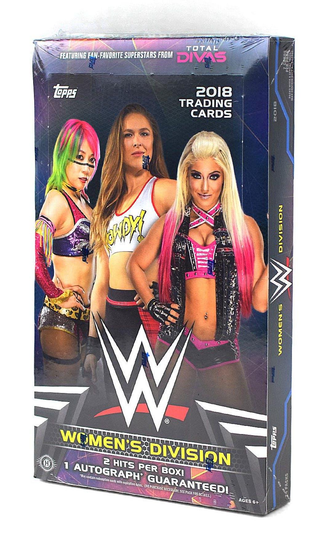 2018 Topps Wwe Women S Division Wrestling Hobby Box Da