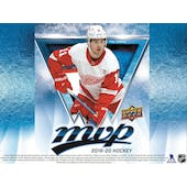 2019/20 Upper Deck MVP Hockey Hobby 20-Box Case (Presell)