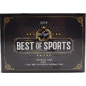 2019 Leaf Best of Sports Hobby Box