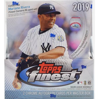 2019 Topps Finest Baseball 8-Box Case- DACW Live 24 Spot Random Team Break #2