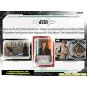 Star Wars Skywalker Saga Hobby 12-Box Case (Topps 2019) (Presell)