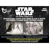 Star Wars: The Empire Strikes Back Black & White Hobby Pack (Topps 2019)