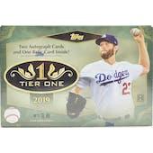 2019 Topps Tier One Baseball Hobby Box