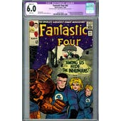 Fantastic Four #45 CGC 6.0 (W) Restored C-1 *2019714010*