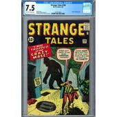 Strange Tales #100 CGC 7.5 (OW-W) *2019714025*