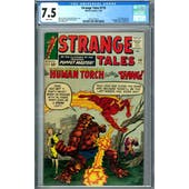 Strange Tales #116 CGC 7.5 (W) *2019715013*