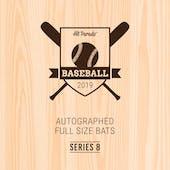 2019 Hit Parade Autographed Baseball Bat Hobby Box - Series 8 - TED WILLIAMS & Cal Ripken Jr.!!!