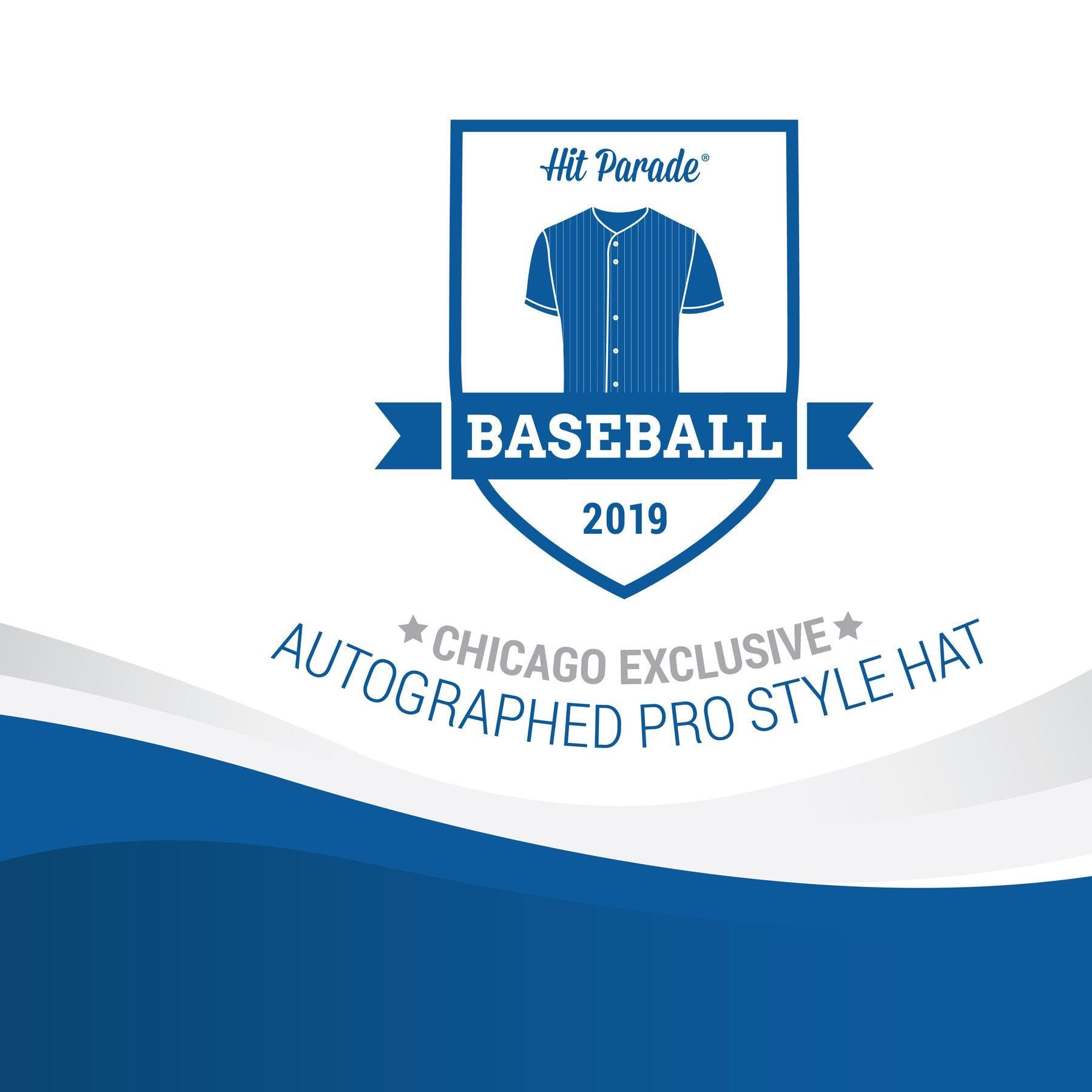 3e863ce5969 2019 Hit Parade Autographed Baseball Hat Hobby Box - CHICAGO SHOW EXCLUSIVE  - Cal Ripken Jr.   Kris Bryant!