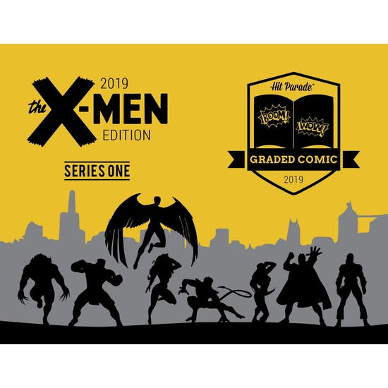 2019 Hit Parade X-Men Graded Comic Ed 1-Box Ser 1- DACW Live 5 Spot Break #6