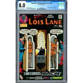 Superman's Girlfriend Lois Lane #106 CGC 8.0 (OW-W) *2027298004*