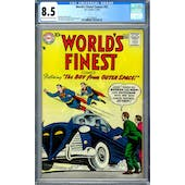 World's Finest Comics #92 CGC 8.5 (LT-OW) *2027298015*