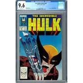 Incredible Hulk #340 CGC 9.6 (OW) *2027874007*