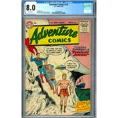 Adventure Comics #223 CGC 8.0 (OW) *2037692014*