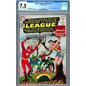 Justice League of America #9 CGC 7.5 (OW-W) *2037702025*