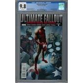Ultimate Fallout #4 CGC 9.8 (W) *2042676002*
