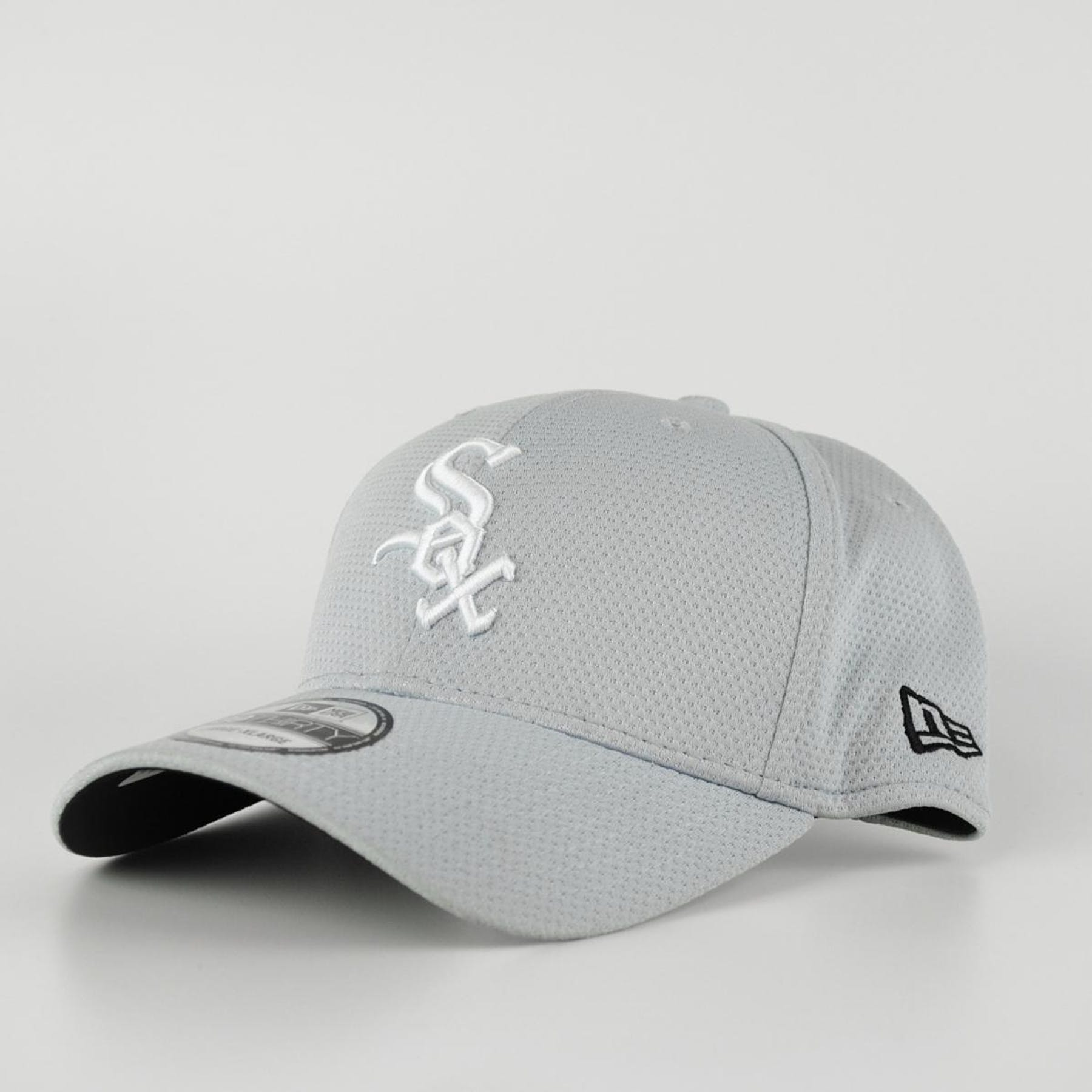 6a01f2b38f0 Chicago White Sox New Era Grey 39Thirty Double Timer Fitted Hat