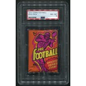 1973 Topps Football Wax Pack PSA 8 (NM-MT)