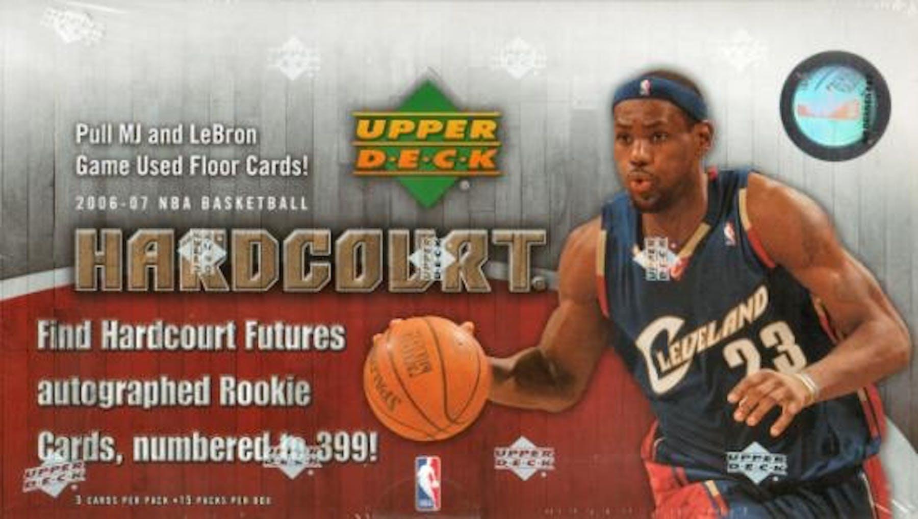 e0a7510b3ab28 2006 07 Upper Deck Hardcourt Basketball Hobby Box