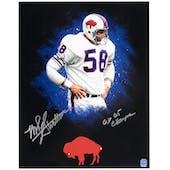 Mike Stratton Autographed Buffalo Bills 11x14 Photo