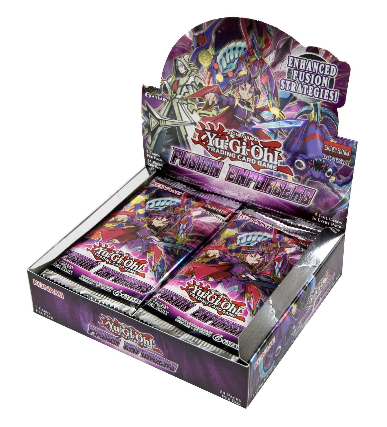 Yu-Gi-Oh Fusion Enforcers Booster Box