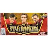 2015/16 Upper Deck NHL Star Rookies Hockey Hobby Box