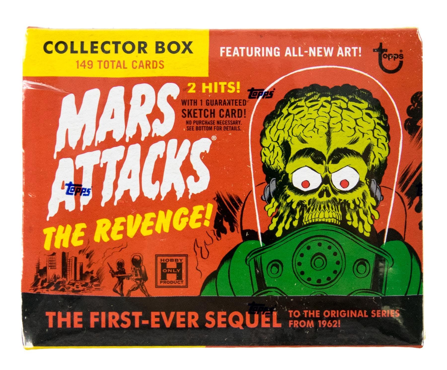 Mars Attacks The Revenge Trading Cards Hobby Box Topps