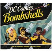 DC Comics Bombshells Trading Cards Box (Cryptozoic 2017)