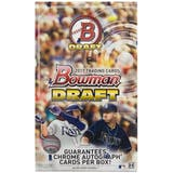 2017 Bowman Draft Baseball Hobby SUPER Jumbo Box