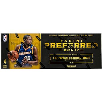 2016/17 Panini Preferred Basketball 8-Box Case- New Year 30 Spot Random Team Break #2
