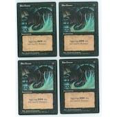 Magic the Gathering 3rd ed/Revised FBB ITALIAN Dark Ritual PLAYSET 4x - MODERATE PLAY (MP)