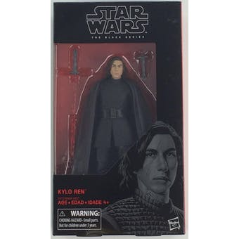 Star Wars E8 Last Jedi Black Series Kylo Ren Figure