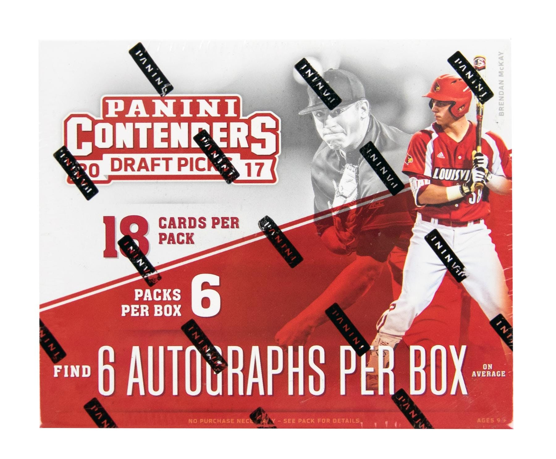 871ac88f1 2017 Panini Contenders Draft Picks Baseball Hobby Box